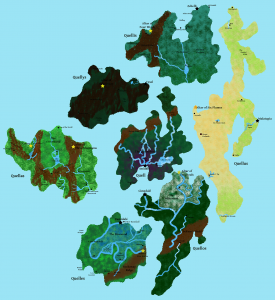 The Great Islands Nation of the Coquels